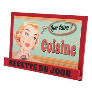 Stojan na kuchařku Antic Line Vintage Cuisine