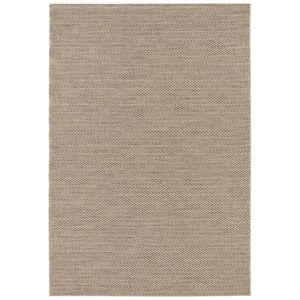 Hnědý koberec vhodný i na ven Elle Decor Brave Caen, 120 x 170 cm