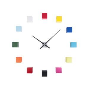 Barevné nástěnné hodiny Karlsson Do It Yourself