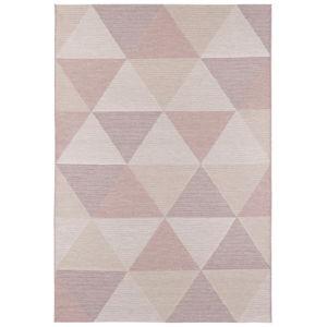 Růžový koberec vhodný i na ven Elle Decor Secret Sevres, 200 x 290 cm