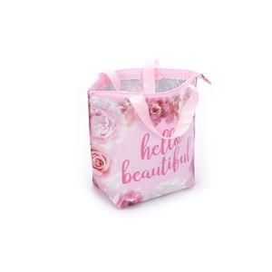 Růžová termo taška na oběd Tri-Coastal Design Beautiful