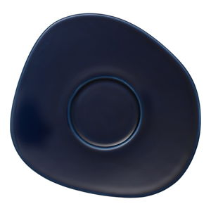 Tmavě modrý porcelánový podšálek Like by Villeroy & Boch Group, 17,5 cm