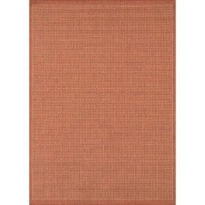 Oranžový venkovní koberec Floorita Tatami, 180 x 280 cm