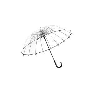 Dámský transparentní holový deštník sautomatickým otevíráním Ambiance Simple, ⌀102cm