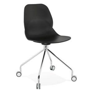 Černá kancelářská židle Kokoon Rapido