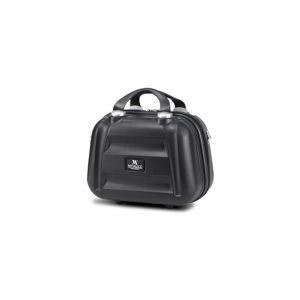 Černý dámský příruční cestovní kufřík My Valice SMART BAG LASSO Make Up & Hand Suitcase