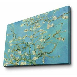 Nástěnná reprodukce na plátně Vincent Van Gogh Almond Blossom, 100 x 70 cm
