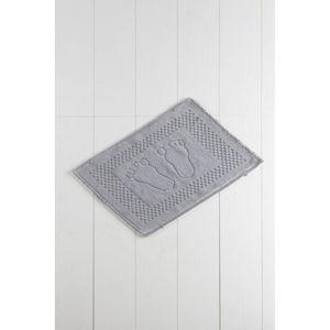 Šedá koupelnová předložka Carrisma Mento, 70 x 50 cm