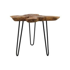 Příruční stolek z teakového dřeva HSM collection Kario