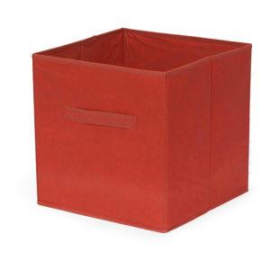 Červený skládatelný úložný box Compactor Foldable Cardboard Box