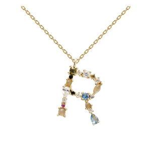 Pozlacený náhrdelník PD PAOLA Monogram R