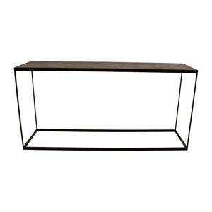 Konzolový stolek s deskou z recyklovaného dřeva Canett Damo, délka 160 cm