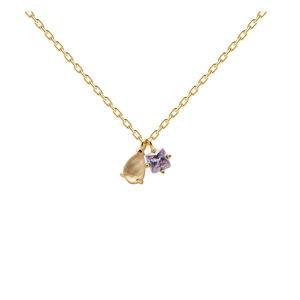 Pozlacený náhrdelník PD Paola Velours