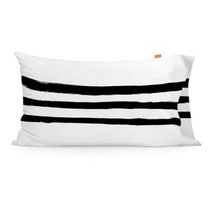 Sada 2 bavlněných povlaků na polštář Blanc Stripes, 50x75cm