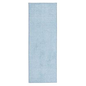 Modrý běhoun Hanse Home Pure, 80x400cm