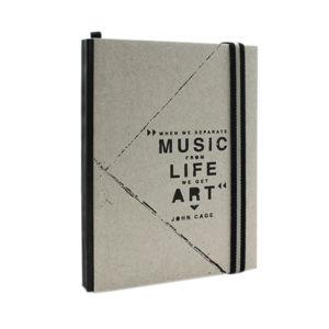 Zápisník A6 Makenotes Concrete, 96 listů