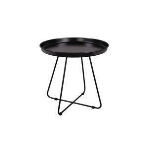 Černý odkládací stolek Nørdifra El