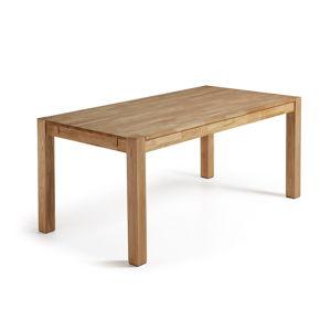 Jídelní rozkládací stůl z dubového dřeva La Forma, 180 x 90 cm
