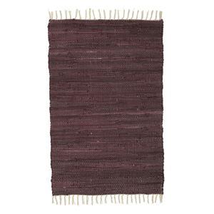 Vínový vzorovaný koberec A Simple Mess Mille, 90x60cm