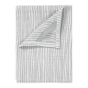 Sada 2 šedo-bílých bavlněných utěrek na nádobí Blomus, 50x70cm
