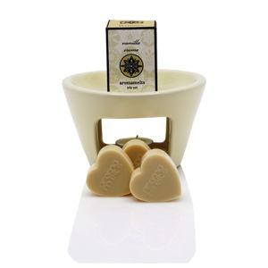 Aromalampa s vonnými vosky s vůní vanilky Aromabotanical Sweet Home, dobahoření30hodin