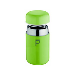 Zelená vakuová termoska z nerezové oceli Pioneer Drink Pod, 400 ml