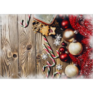 Koberec Vitaus Christmas Period Tree Deco, 50 x 80 cm