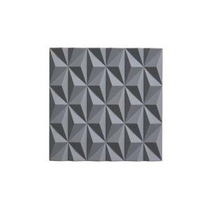 Šedá silikonová podložka pod horké nádoby Zone Origami Beak