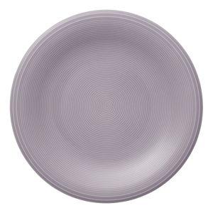 Fialový porcelánový talíř na salát Like by Villeroy & Boch Group, 21,5 cm