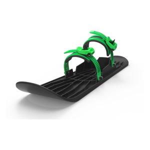 Plastová černo-zelená zimní lyže Gizmo Onefoot Mystic, 72 cm