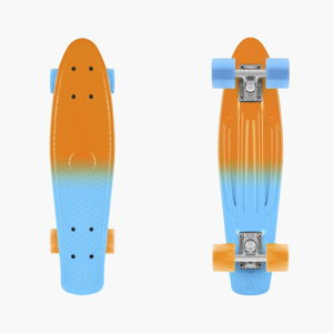 Barevný skateboard InnovaGoods Mini Cruiser Ananas