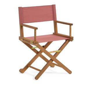 Hnědá skládací venkovní židle z akáciového dřeva La Forma Dalisa