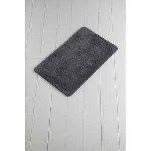 Tmavě šedá koupelnová předložka Minto Duratto, 100 x 60 cm