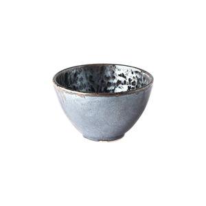 Černo-šedá keramická miska MIJ Pearl, ø 13 cm