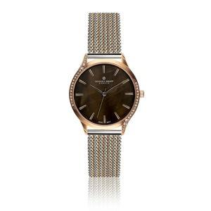Dámské hodinky s páskem ve stříbrné barvě z nerezové oceli Frederic Graff Lartio