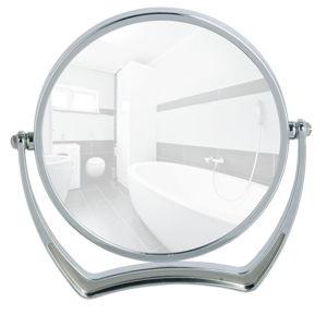 Chromované stojací zvětšovací zrcadlo Wenko Noale, Ø19 cm