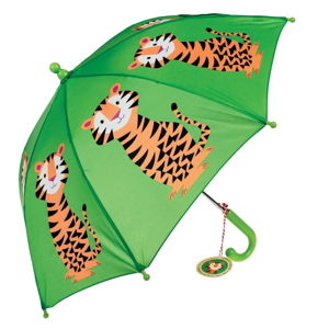 Dětský holový deštník Ambiance Rex London Jim The Tiger, ⌀64cm