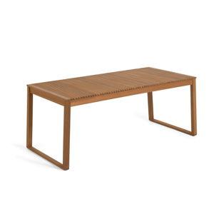Zahradní jídelní stůl z akáciového dřeva La Forma Emili, 180 x 90 cm