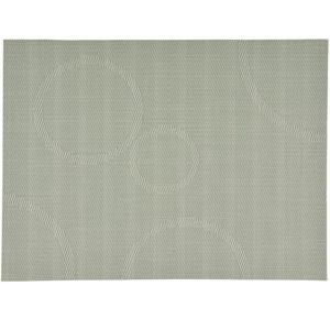 Prostírání s kruhy Zone, olivové 40x30 cm