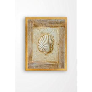 Nástěnný obraz na plátně Tablo Center Seashell, 29 x 24 cm