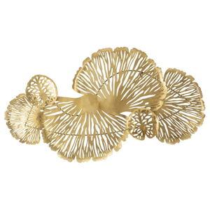 Nástěnná dekorace ve zlaté barvě Mauro Ferretti Astra