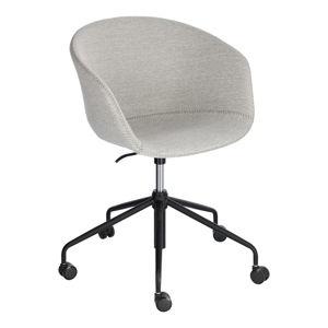 Světle šedá kancelářská židle La Forma Zadine