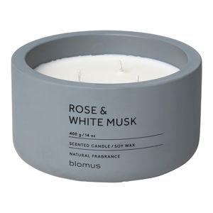 Svíčka ze sojového vosku s vůní růží a pižma Blomus Fraga,25 hodin hoření