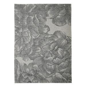Šedá kuchyňská utěrka z bavlny Södahl Rose