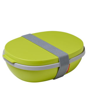 Limetkově zelený obědový box Rosti Mepal Ellipse