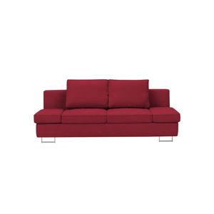 Červená dvojmístná rozkládací pohovka Windsor & Co Sofas Iota