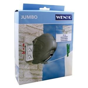 Rozšířitelná šňůra na prádlo Wenko Jumbo, délka15m