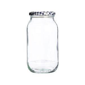Skleněná zavařovací sklenice Kilner Round, 725ml