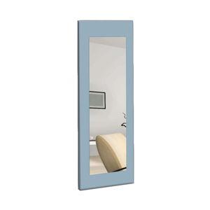 Nástěnné zrcadlo s modrým rámem Oyo Concept Chiva,40x120cm