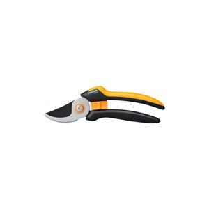 Černé ocelové dvousečné nůžky Fiskars Solid, délka 26,5 cm